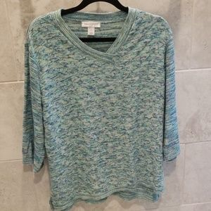 Christopher & Banks XL sweater 3/4 sleeve